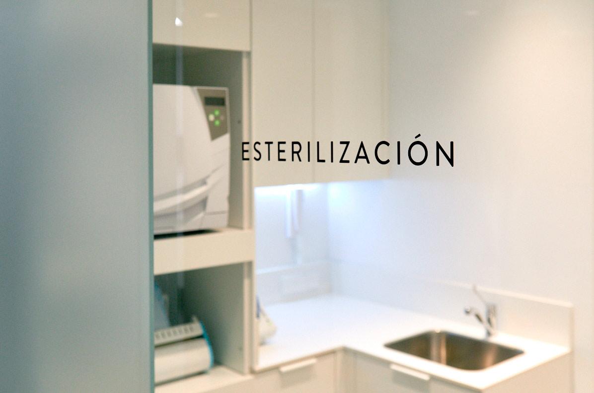 sala de esterilizacion en dentista de madrid