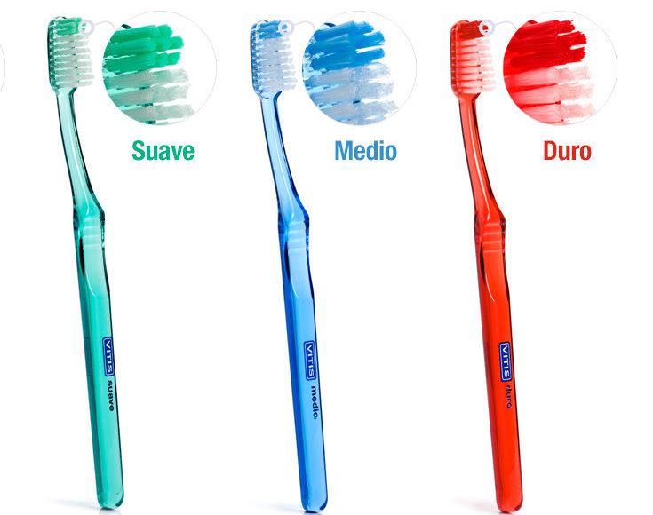 diferentes tipos de cepillos dentales